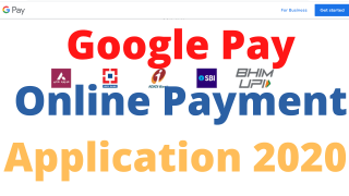 Google Pay Online Payment Application 2020