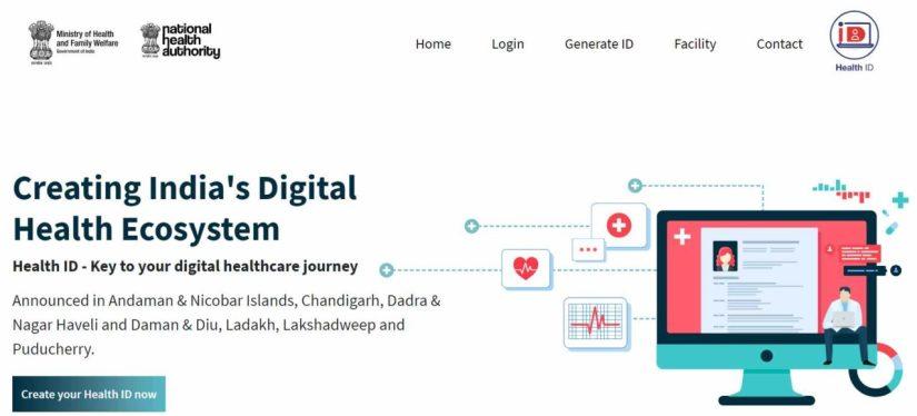 PM Modi health ID card scheme
