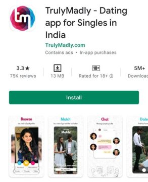 Truly madly डेटिंग ऐप