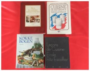 Professionnelle kogebøger