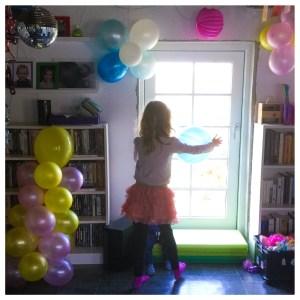 My little Pony temafest med balloner