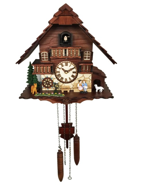 KW2622 - A18KCKW2622MD Kaiser Black Forest Chalet Quartz Cuckoo solid wood