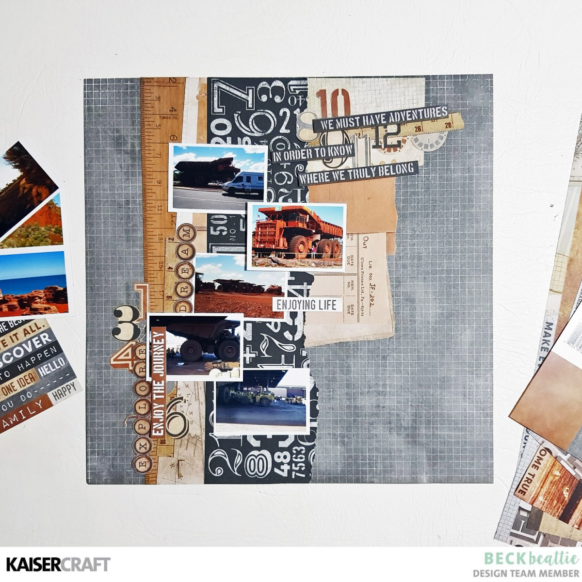 Multi photo layout with Beck Beattie