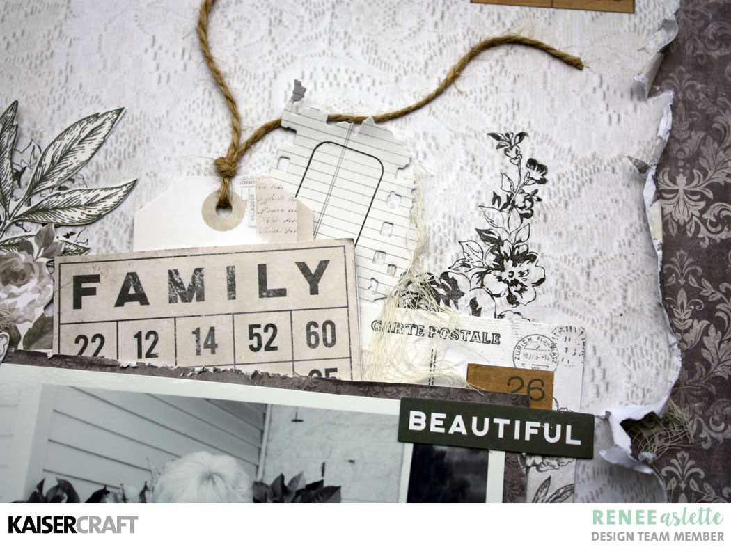"""""""LOVE"""" a Pen and Ink Layout Tutorial by Renee Aslette"""