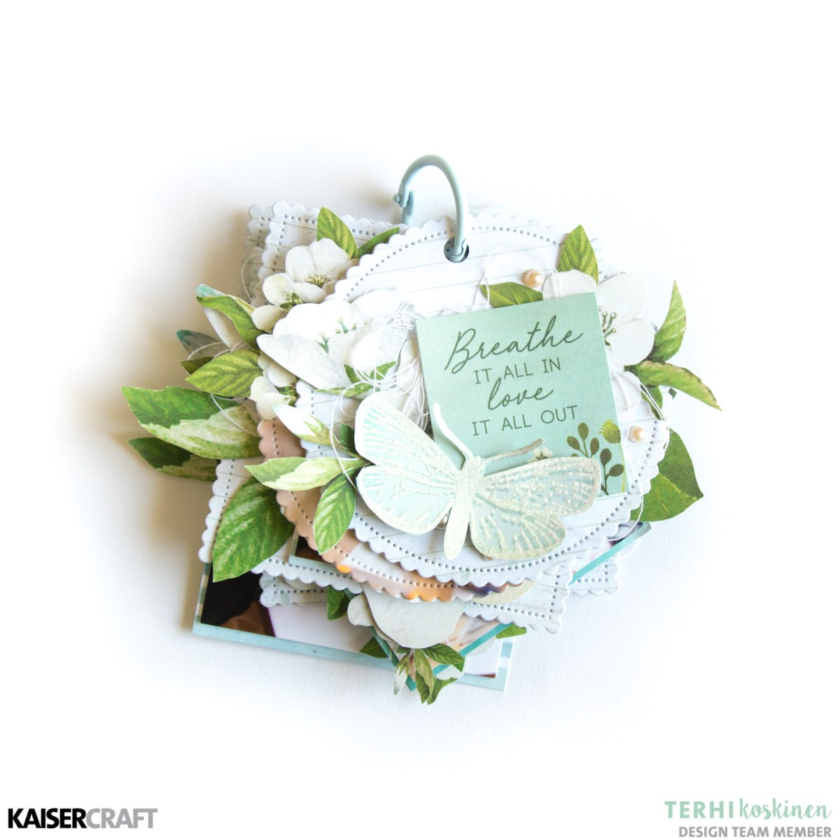 Morning Dew Mini Book with Terhi Koskinen