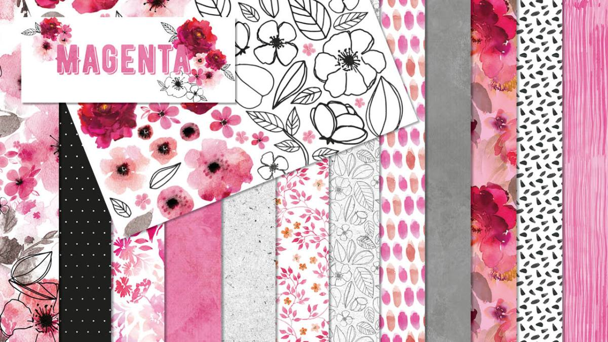 Magenta Collection and Coordinating Products
