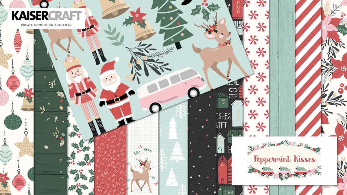 Peppermint Kisses Collection and Coordinating Products