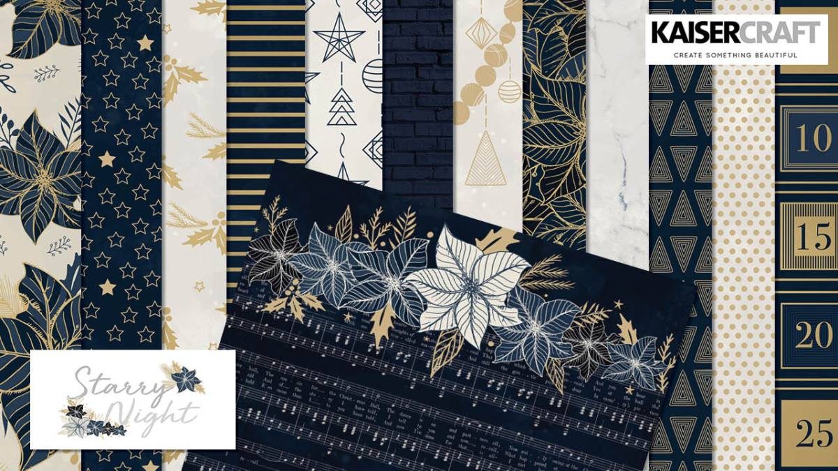 Starry Night Collection and Coordinating Products