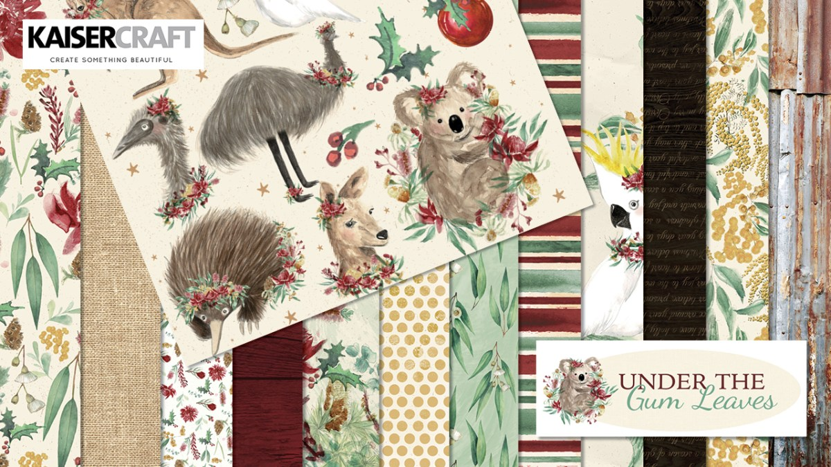 Under the Gum Leaves Collection and Coordinating Products