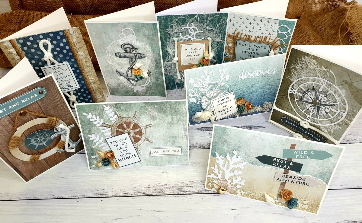 Guest DT – Paula Saunders     Chartered Waters Card Set