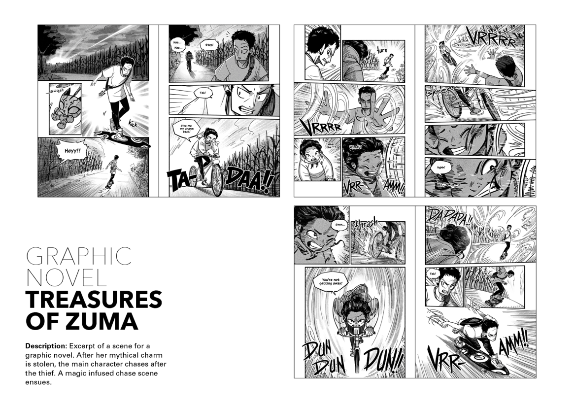 Treasures of Zuma – Comic Pages