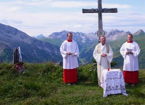 Einladung Bergmesse Hahnleskopf