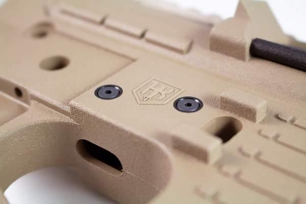 AR-15 Anti-Walk Pins V-Lock installed