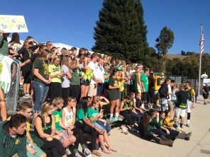 San Ramon Valley fans get rowdy...