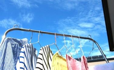 洗濯物の重さはどのくらい?物干しと洗濯物について
