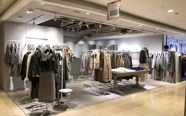 マッキントッシュ フィロソフィー  グレーラベル  ルミネ新宿 ルミネ2店