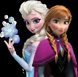 Ana and Elsa, Frozen, Disney Princess