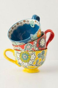 And how cute are these mugs from Anthropologie?
