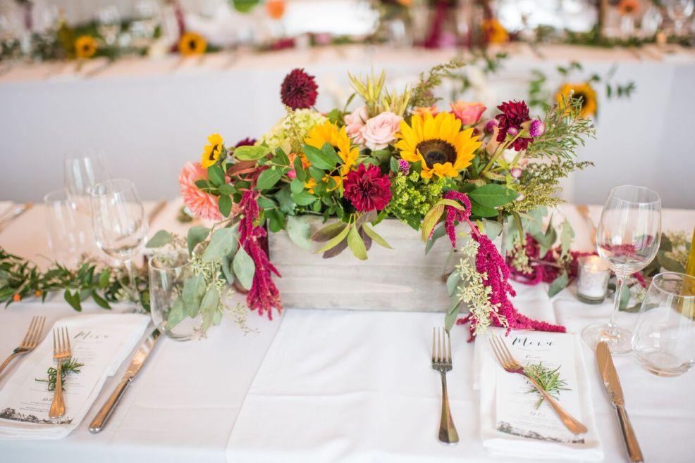 Intimate Jedidiah Hawkins Inn Wedding Kaitlyn Ferris New York Fall Reception Centerpieces