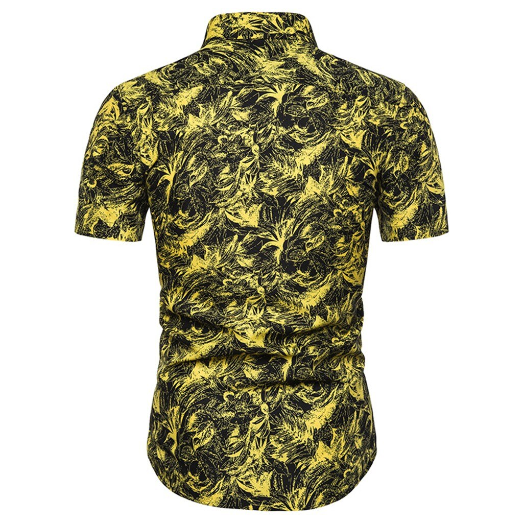 New Style Fashion Printed Short Sleeve Shirt