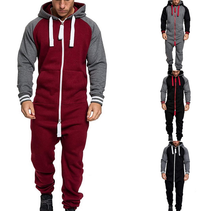 One-piece Garment Pajama Casual Tracksuit