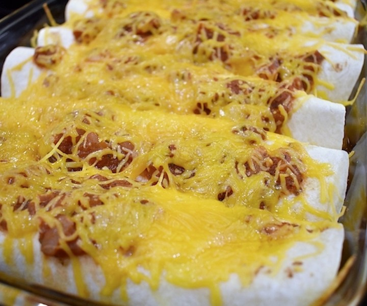 Easy & Healthy Beef Enchiladas Recipe