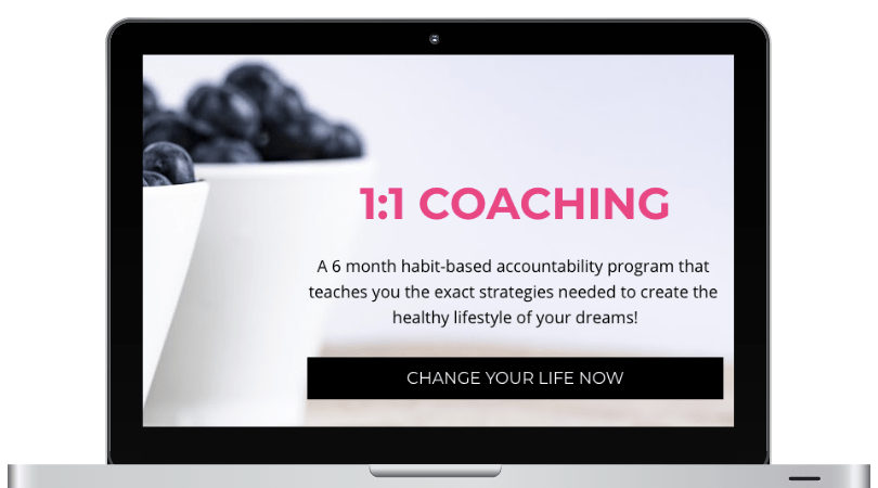 1:1 PRIVATE COACHING