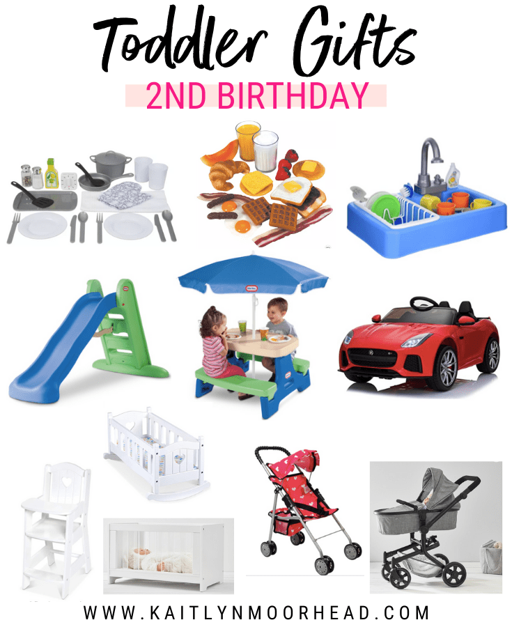 This post includes the gifts my daughter received for her second birthday + I wanted to share because I love them all! I think so many toddler girls + boys would love these products. She is already playing with them so much. The products include play kitchen accessories, a play sink that uses actual water, a large foldable slide, a foldable kids picnic table with an umbrella, a luxury car, + baby accessories! These are great for ages 2, 3, 4, + 5! Follow me on my LIKEtoKNOW it @kaitmoorhead
