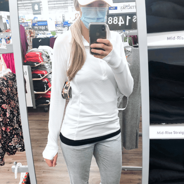 $16 athletic top - Walmart Find | Kaitlyn Moorhead