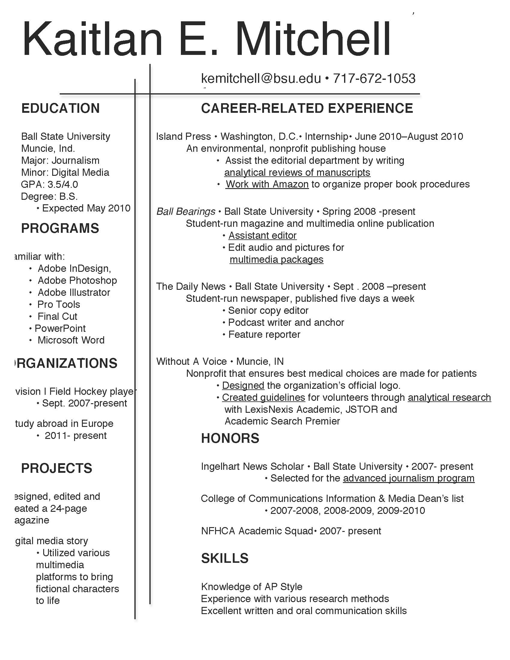 Are References Required On A Resume Resume And References Kait Mitchell 39s Resume