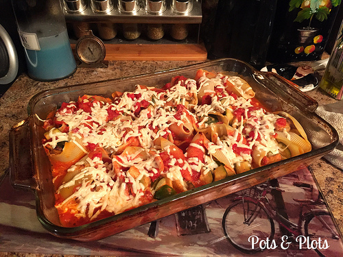 Dairy Free Stuffed Shells