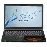 Panasonic Let's note SX3 CF-SX3ZDYBR ブラックの画像