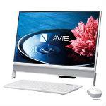 NEC LAVIE Desk All-in-one DA350/EAW PC-DA350EAW ファインホワイトの画像