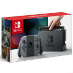 Nintendo Switch本体 Joy-Con(L) (R) グレーの画像