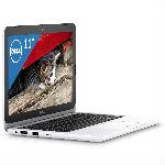 Dell ノートパソコン Inspiron 11 Pentiumモデル ホワイト 17Q32W/Windows10/…の画像