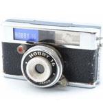 豆カメラ ケース付 トイカメラ ビンテージの画像