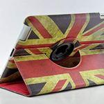 Interbusiness 360度PUレザーヴィンテージイギリスUKフラグスタイルfor Apple iPad 2…の画像