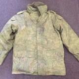 ロシア軍 ジャケット 防寒 ライナー付き デジタルフローラ迷彩 ミリタリーを買取りさせて頂きました。