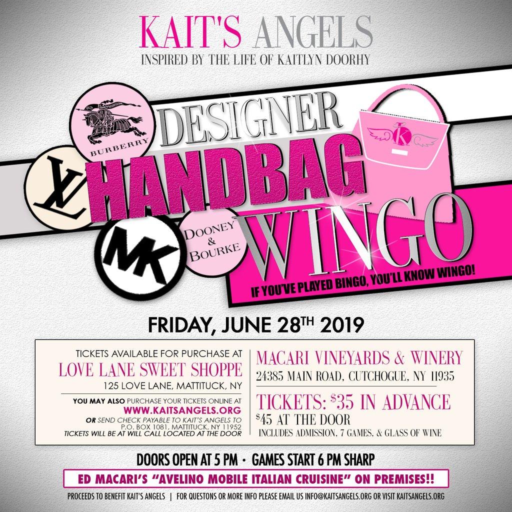 Annual Designer Handbag WINGO