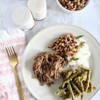 Crock Pot Beef Roast and Gravy