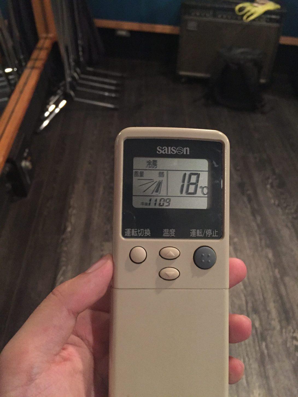 エアコンリモコン