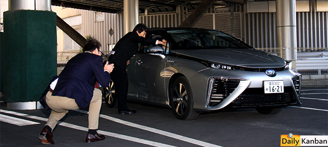 The things I learned while not test driving the hydrogen-powered Toyota Mirai