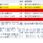 株主優待クロス取りのキモである最高(最大)逆日歩の計算方法~逆日歩狙い(受け取り)取引にも役立てて!!