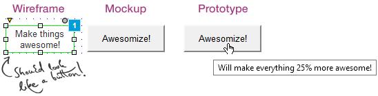wireframe to prototype