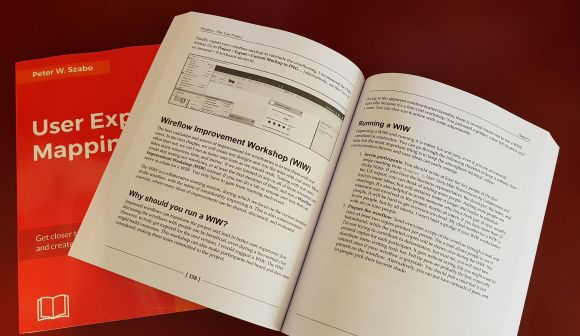 User Experience Mapping - book photo