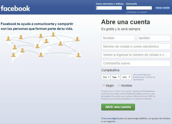 crear un perfil en Facebook para crear pagina de Facebook para tu empresa