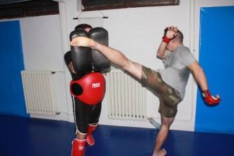 Vežba - High kick