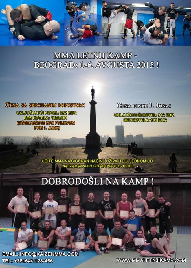 MMA Letnji Kamp