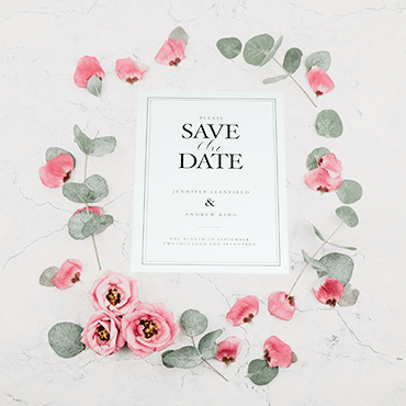 Bespoke Save The Date Cards Kaizen Print