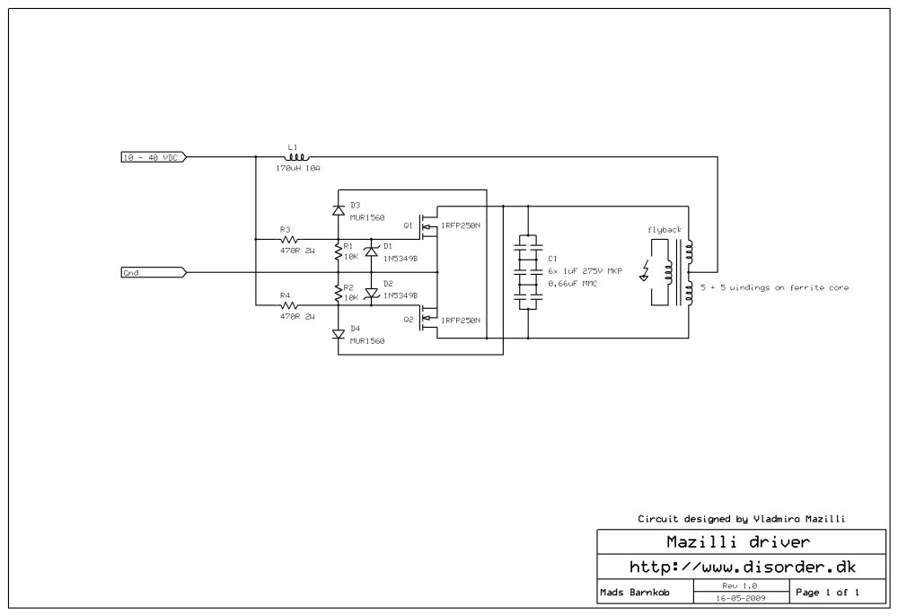 medium resolution of schematic mazilliflybackdriverschematic